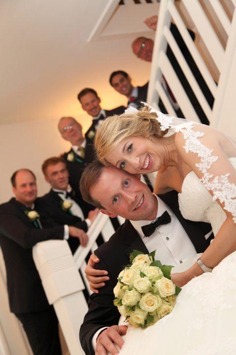 Hochzeitsfotos im Gutshof